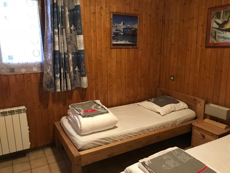 Skiverleih Chalet le 1244 - Champagny-en-Vanoise - Schlafzimmer