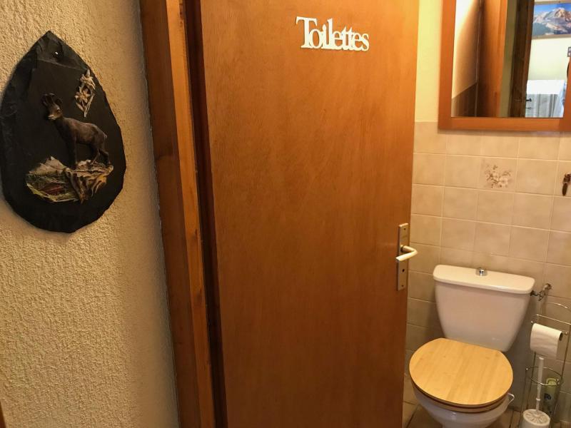 Skiverleih Chalet le 1244 - Champagny-en-Vanoise - Separates WC