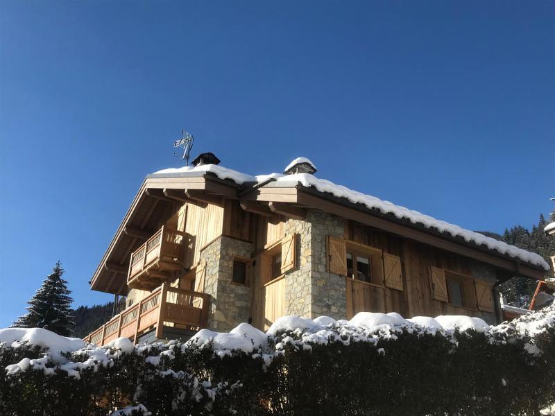 Vacances en montagne Chalet le Petit Ours - Champagny-en-Vanoise - Extérieur hiver