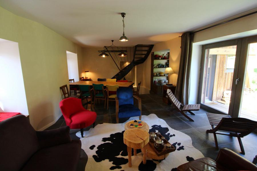 Skiverleih 5 Zimmer Chalet für 10 Personen (CH) - Chalet le Sapé - Champagny-en-Vanoise - Esszimmer