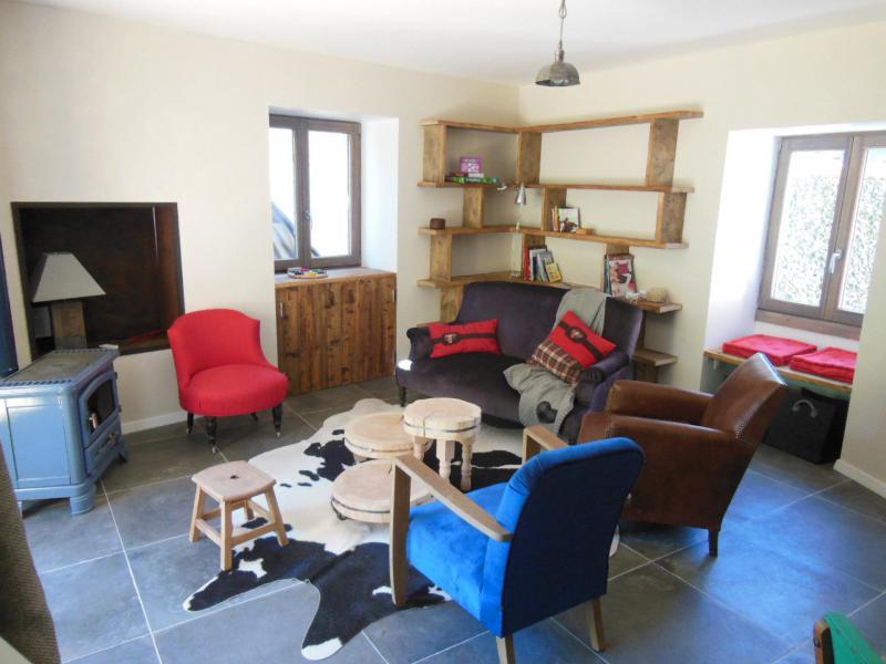Skiverleih 5 Zimmer Chalet für 10 Personen (CH) - Chalet le Sapé - Champagny-en-Vanoise - Wohnzimmer