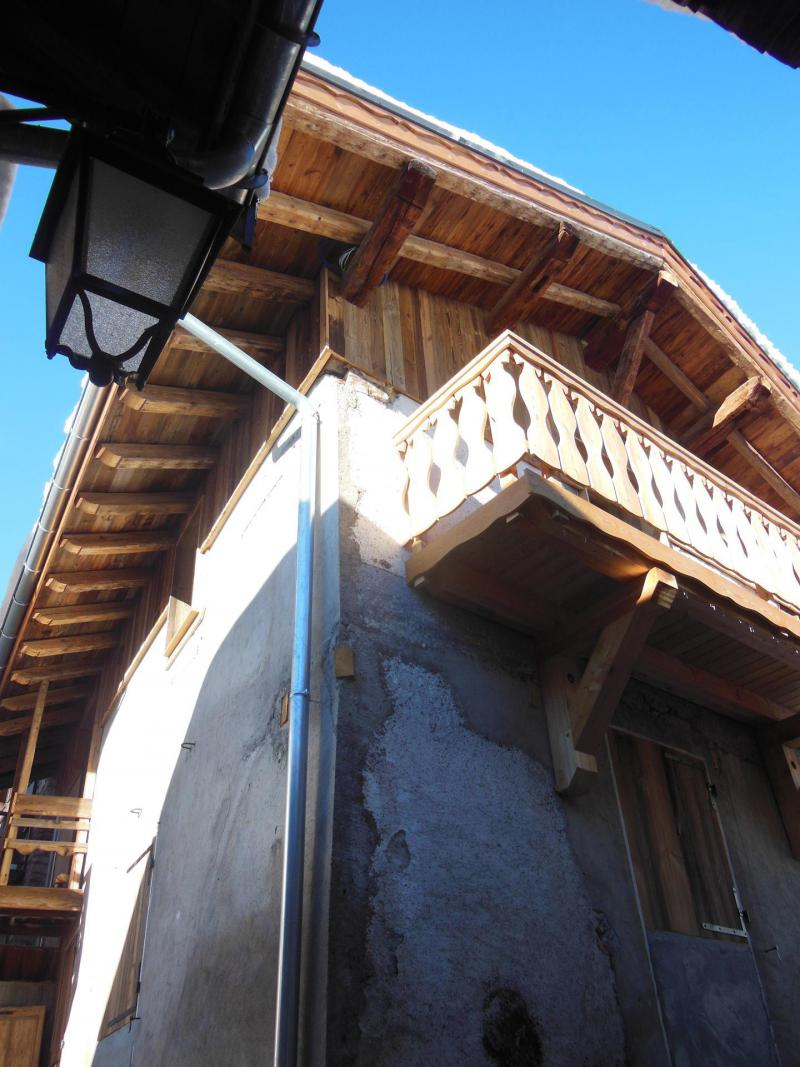 Vacances en montagne Chalet le Sapé - Champagny-en-Vanoise - Extérieur hiver