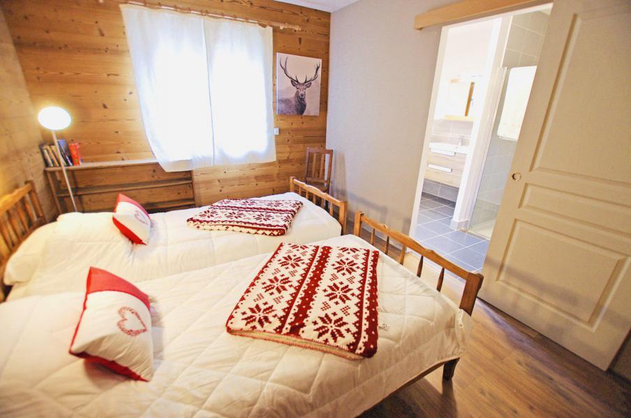 Location au ski Chalet 6 pièces 10 personnes - Chalet le Sérac - Champagny-en-Vanoise - Chambre