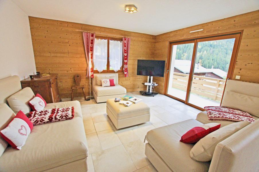 Location au ski Chalet 6 pièces 10 personnes - Chalet le Sérac - Champagny-en-Vanoise - Séjour