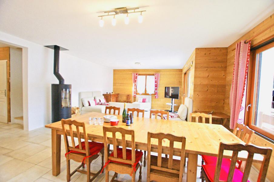 Soggiorno sugli sci Chalet 6 stanze per 10 persone - Chalet le Sérac - Champagny-en-Vanoise - Tavolo