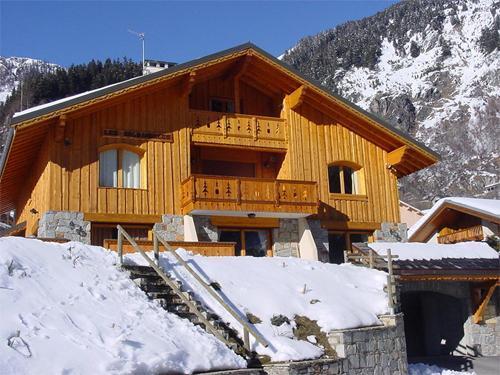 Location au ski Appartement 6 pièces 10 personnes - Chalet Les Soldanelles - Champagny-en-Vanoise - Extérieur hiver