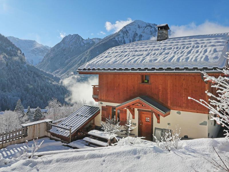 Vacances en montagne Chalet Rosa Villosa - Champagny-en-Vanoise - Extérieur hiver