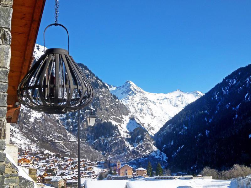 Location au ski Chalet Rosa Villosa - Champagny-en-Vanoise - Extérieur hiver