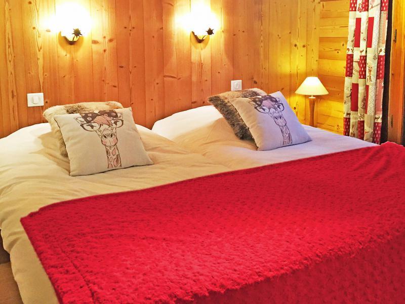 Location au ski Chalet Rosa Villosa - Champagny-en-Vanoise - Lit double