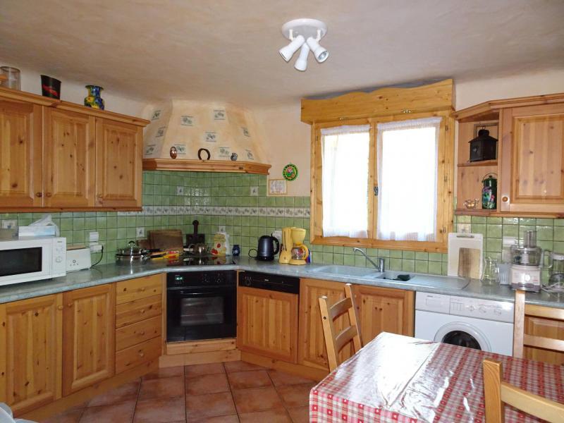 Location au ski Appartement triplex 6 pièces 12 personnes - Chalet Soldanelles - Champagny-en-Vanoise - Cuisine