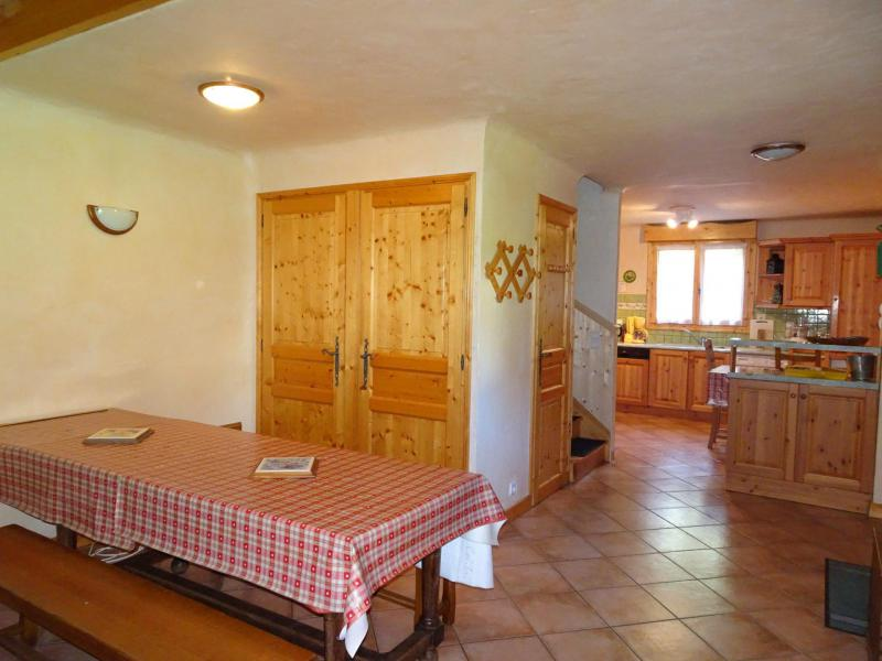 Location au ski Appartement triplex 6 pièces 12 personnes - Chalet Soldanelles - Champagny-en-Vanoise - Salle à manger