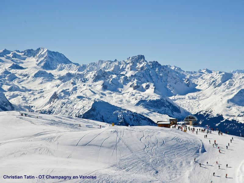 Holiday in mountain resort Chalet Tavel - Champagny-en-Vanoise - Winter outside