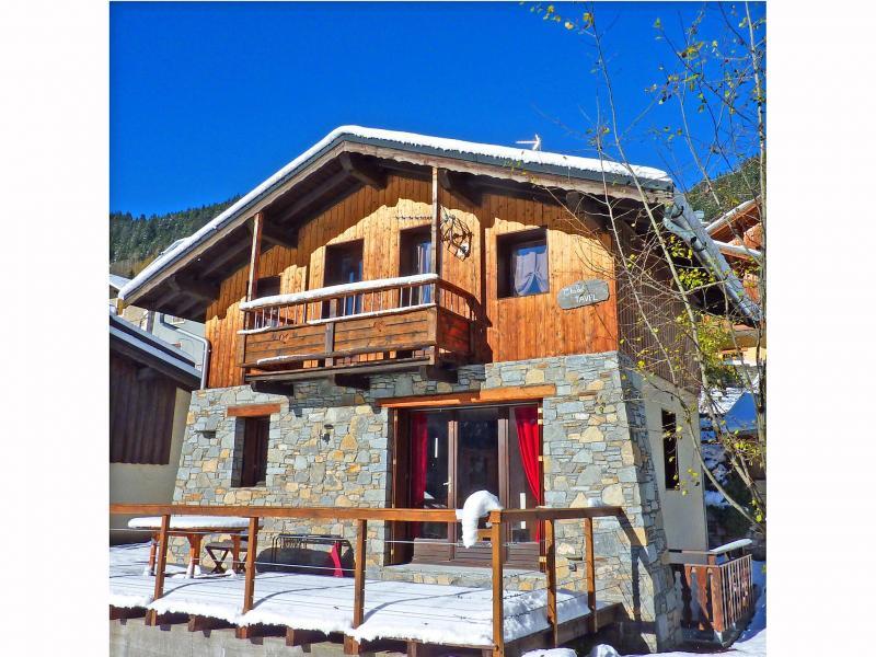 Location au ski Chalet Tavel - Champagny-en-Vanoise - Extérieur hiver
