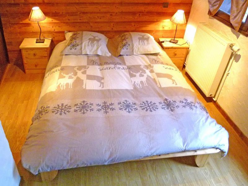 Location au ski Chalet Tavel - Champagny-en-Vanoise - Chambre