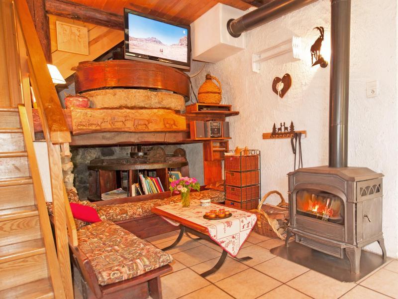 Location au ski Chalet Vieux Moulin - Champagny-en-Vanoise - Séjour