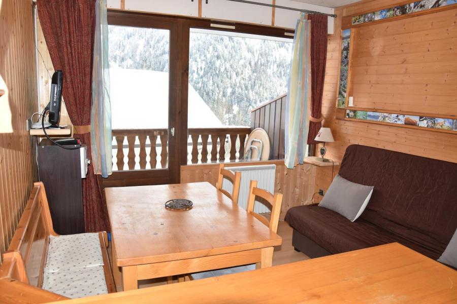 Location au ski Studio 3 personnes (D6) - Les Hauts de Planchamp - Champagny-en-Vanoise