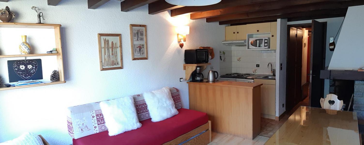 Vacances en montagne Appartement 3 pièces coin montagne 8 personnes (A041CL) - Les Hauts de Planchamp - Ancoli - Champagny-en-Vanoise - Extérieur hiver