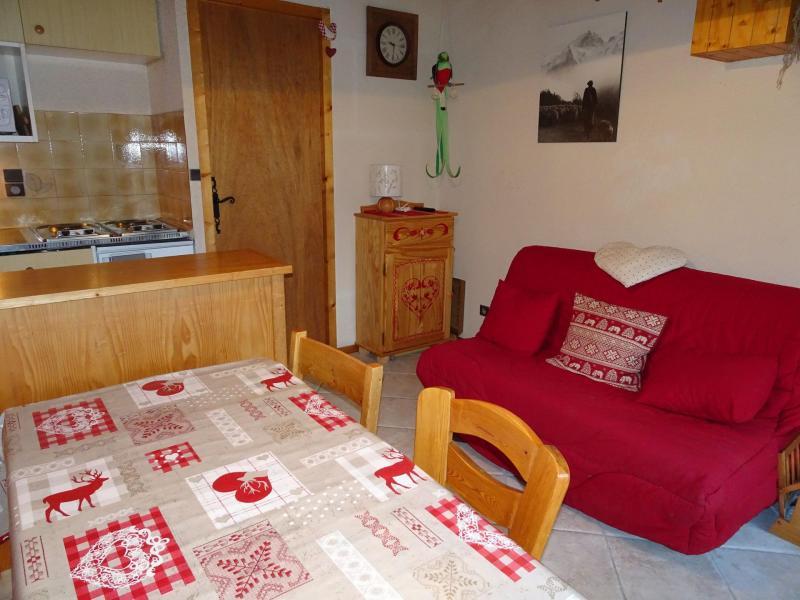 Location au ski Appartement 3 pièces 4 personnes (D18) - Les Hauts de Planchamp - Champagny-en-Vanoise - Canapé