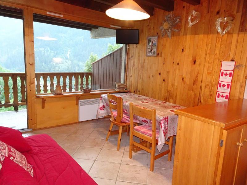 Location au ski Appartement 3 pièces 4 personnes (D18) - Les Hauts de Planchamp - Champagny-en-Vanoise - Coin repas
