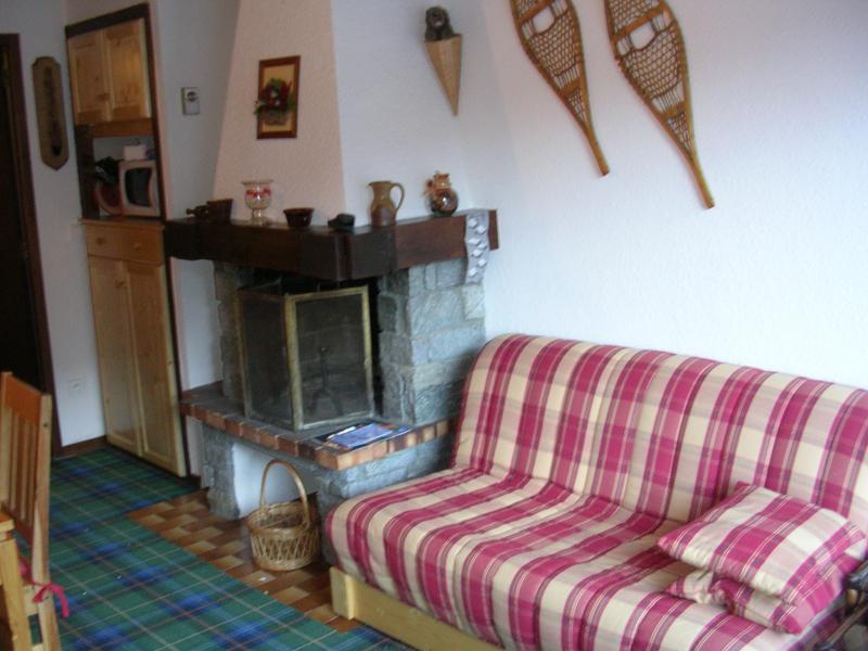 Location au ski Appartement duplex 3 pièces 6 personnes (B049CL) - Les Hauts de Planchamp - Bruyères - Champagny-en-Vanoise - Cheminée