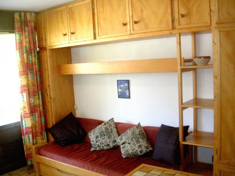 Location au ski Appartement 2 pièces 5 personnes (C003CL) - Les Hauts de Planchamp - Campanule - Champagny-en-Vanoise - Banquette-lit