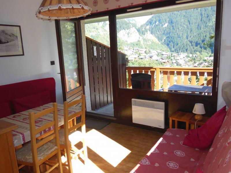 Location au ski Studio coin montagne 3 personnes (C006CL) - Les Hauts de Planchamp - Campanule - Champagny-en-Vanoise - Séjour