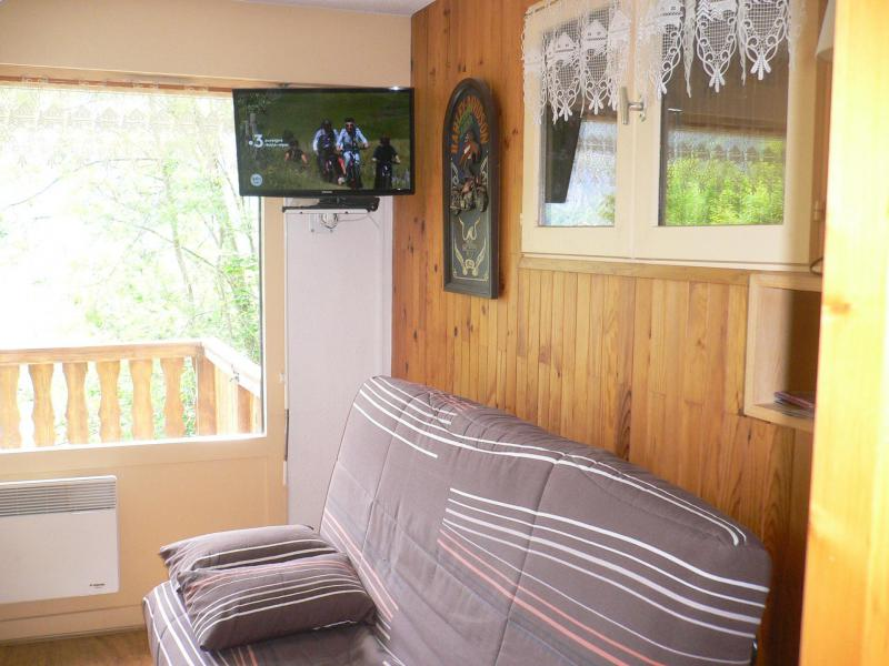 Location au ski Studio coin montagne 4 personnes (C001CL) - Les Hauts de Planchamp - Campanule - Champagny-en-Vanoise - Séjour