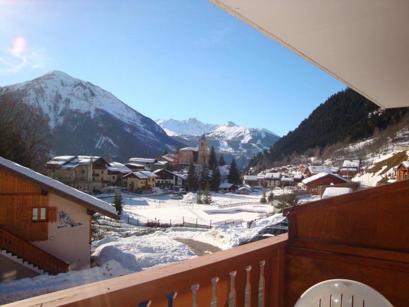 Location au ski Studio coin montagne 4 personnes (CAMPANUL) - Résidence Flor'Alpes - Champagny-en-Vanoise - Extérieur hiver