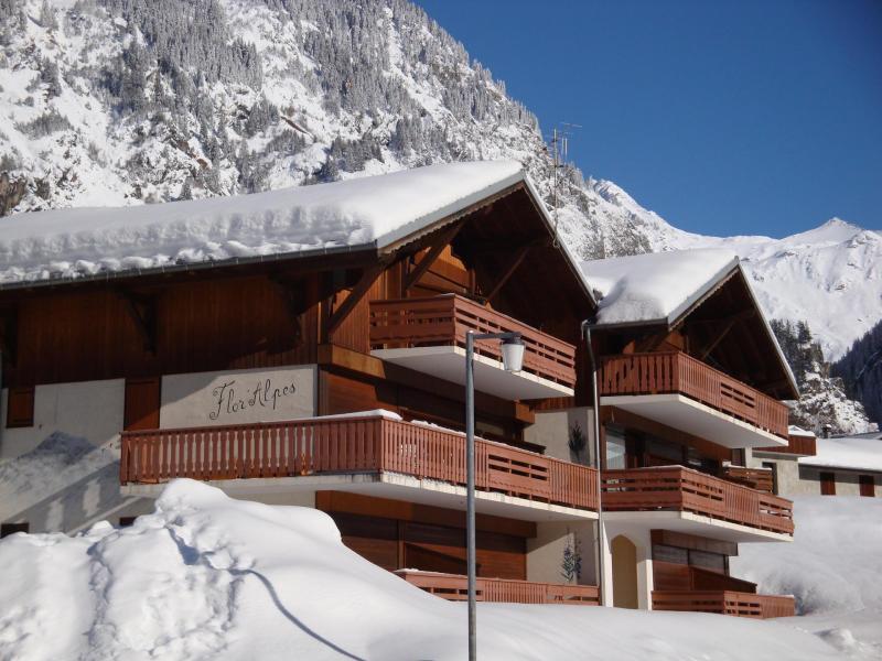 Location au ski Résidence Flor'Alpes - Champagny-en-Vanoise - Extérieur hiver