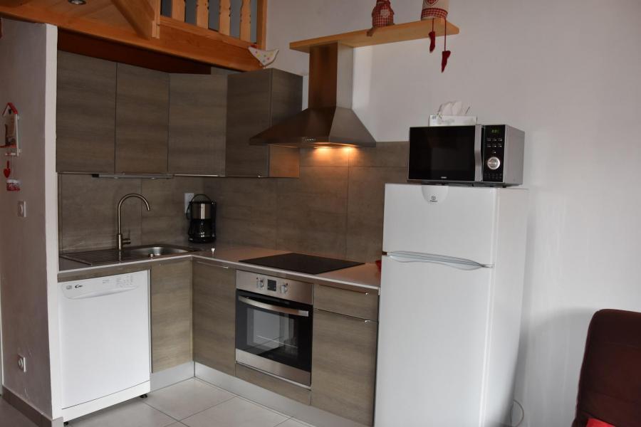 Location au ski Appartement 2 pièces 4 personnes (GENTIANE) - Résidence Flor'Alpes - Champagny-en-Vanoise - Kitchenette