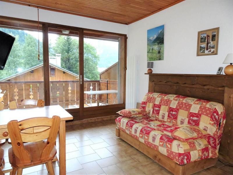 Location au ski Studio coin montagne 4 personnes (CAMPANUL) - Résidence Flor'Alpes - Champagny-en-Vanoise - Lits superposés