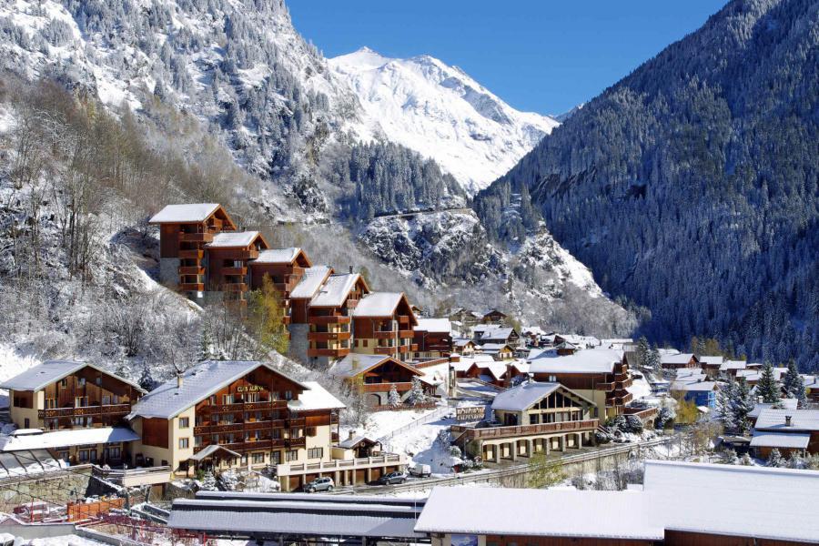 Vacances en montagne Résidence la Tour du Merle - Champagny-en-Vanoise - Extérieur hiver
