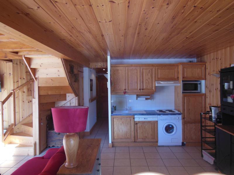 Location au ski Appartement duplex 4 pièces 6 personnes (009P) - Résidence la Tour du Merle - Champagny-en-Vanoise - Kitchenette