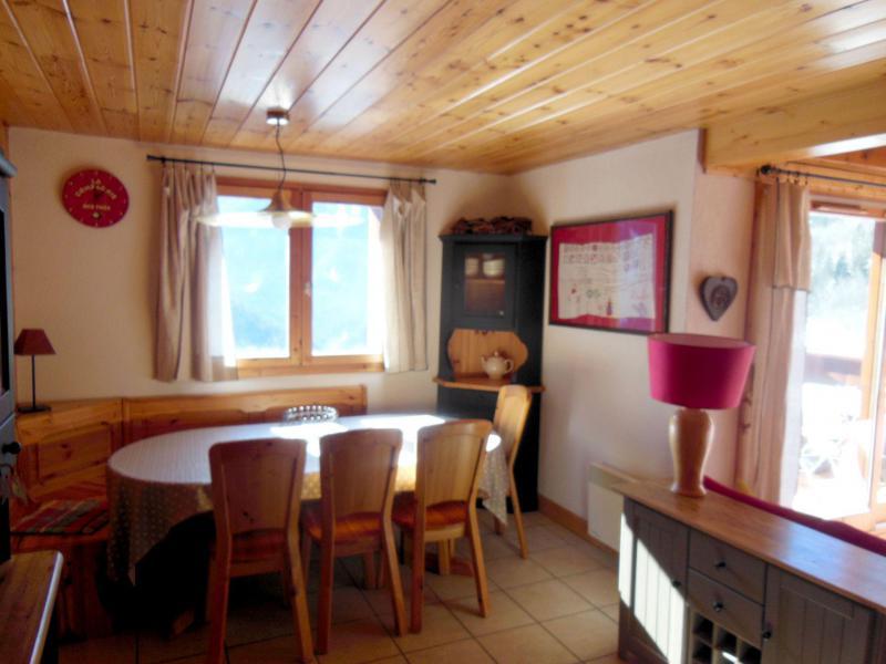 Location au ski Appartement duplex 4 pièces 6 personnes (009P) - Résidence la Tour du Merle - Champagny-en-Vanoise - Table