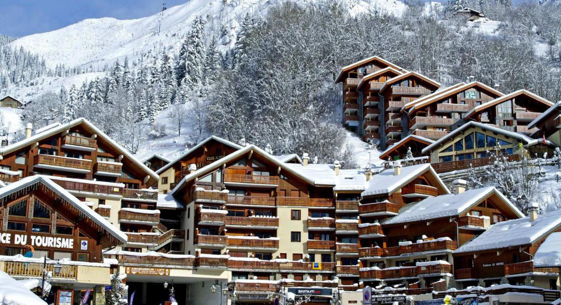 Vakantie in de bergen Résidence le Centre - Champagny-en-Vanoise - Buiten winter