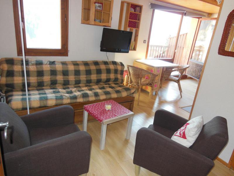 Location au ski Appartement 2 pièces 4 personnes (068) - Résidence le Centre - Champagny-en-Vanoise - Séjour