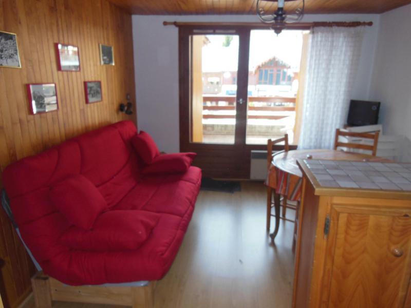 Location au ski Appartement 2 pièces coin montagne 5 personnes (005) - Résidence le Centre - Champagny-en-Vanoise - Séjour