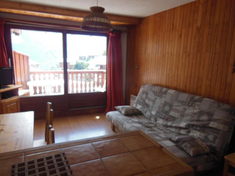 Location au ski Studio coin montagne 4 personnes (027) - Résidence le Centre - Champagny-en-Vanoise - Séjour