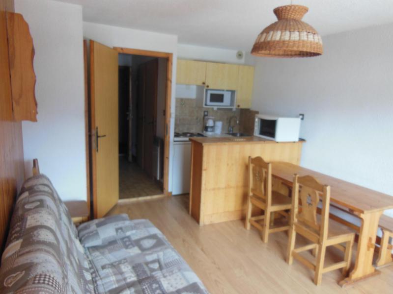 Location au ski Studio coin montagne 4 personnes (027) - Résidence le Centre - Champagny-en-Vanoise - Table
