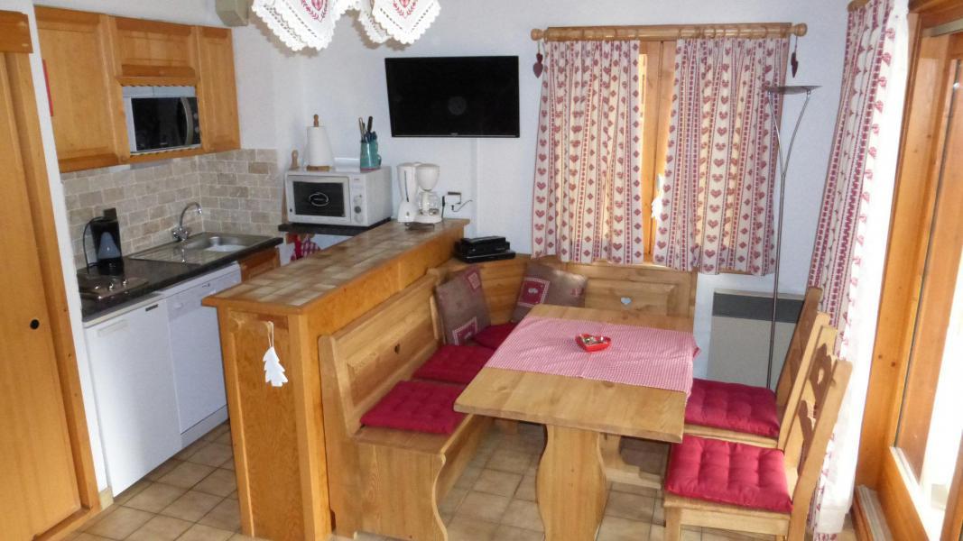 Wynajem na narty Apartament 2 pokojowy kabina 6 osób (003CL) - Résidence le Chardonnet - Champagny-en-Vanoise - Aneks kuchenny