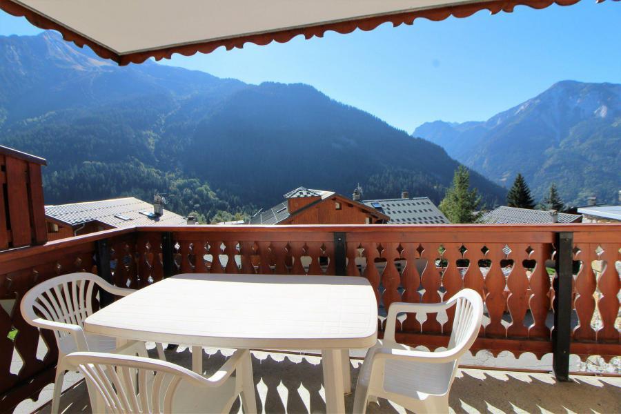 Wynajem na narty Apartament 2 pokojowy kabina 6 osób (011CL) - Résidence le Chardonnet - Champagny-en-Vanoise - Balkon