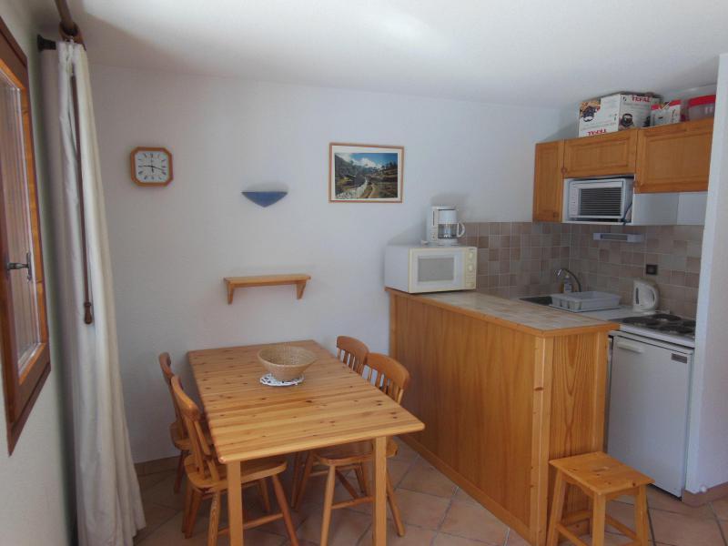 Wynajem na narty Apartament 2 pokojowy kabina 6 osób (021CL) - Résidence le Chardonnet - Champagny-en-Vanoise - Aneks kuchenny