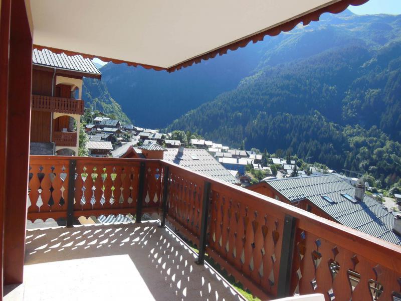 Wynajem na narty Apartament 2 pokojowy kabina 6 osób (021CL) - Résidence le Chardonnet - Champagny-en-Vanoise - Balkon