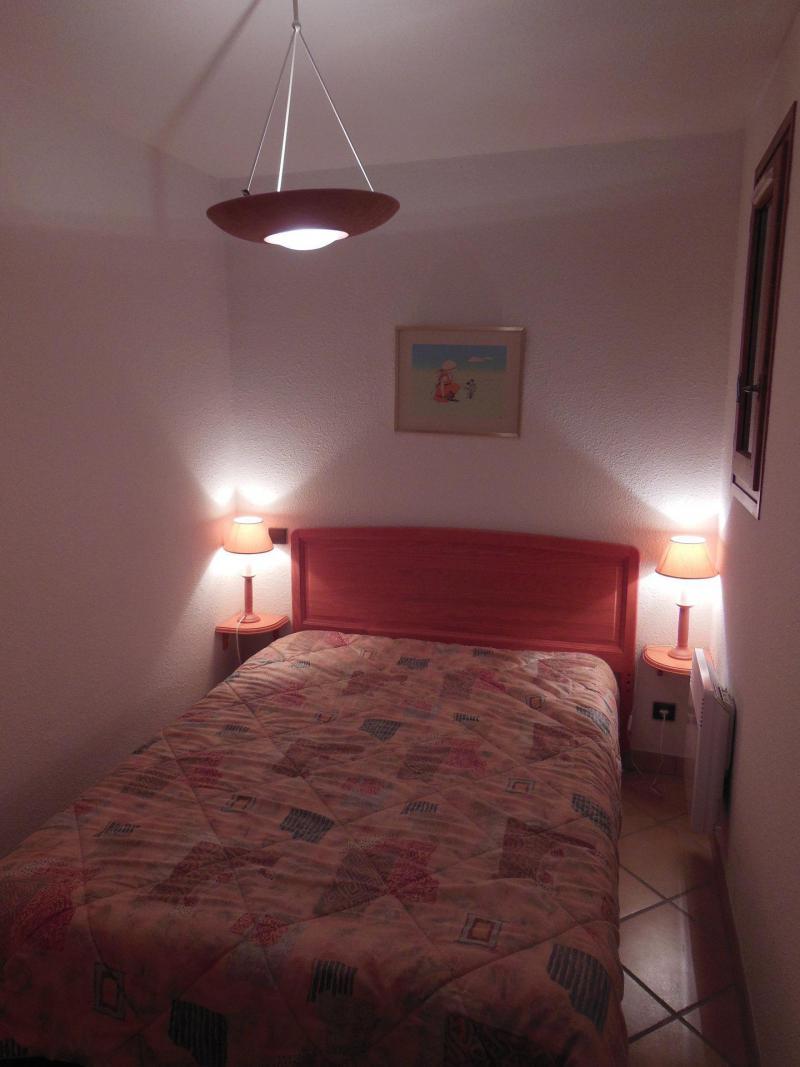 Wynajem na narty Apartament 2 pokojowy kabina 6 osób (021CL) - Résidence le Chardonnet - Champagny-en-Vanoise - Łóżkem małżeńskim