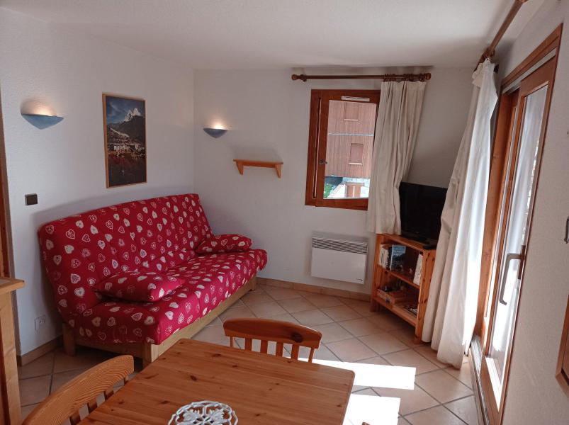 Wynajem na narty Apartament 2 pokojowy kabina 6 osób (021CL) - Résidence le Chardonnet - Champagny-en-Vanoise - Pokój gościnny