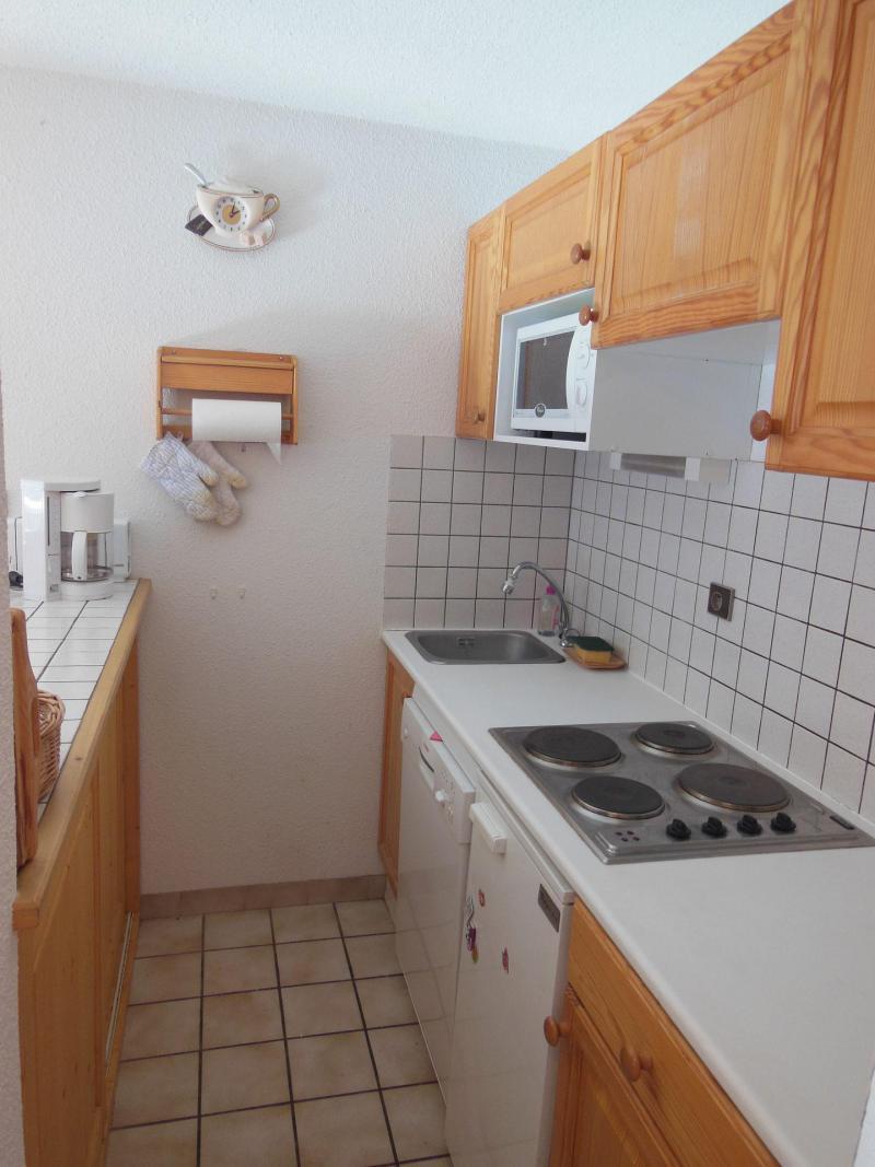 Wynajem na narty Apartament 3 pokojowy kabina 6 osób (033CL) - Résidence le Chardonnet - Champagny-en-Vanoise - Aneks kuchenny