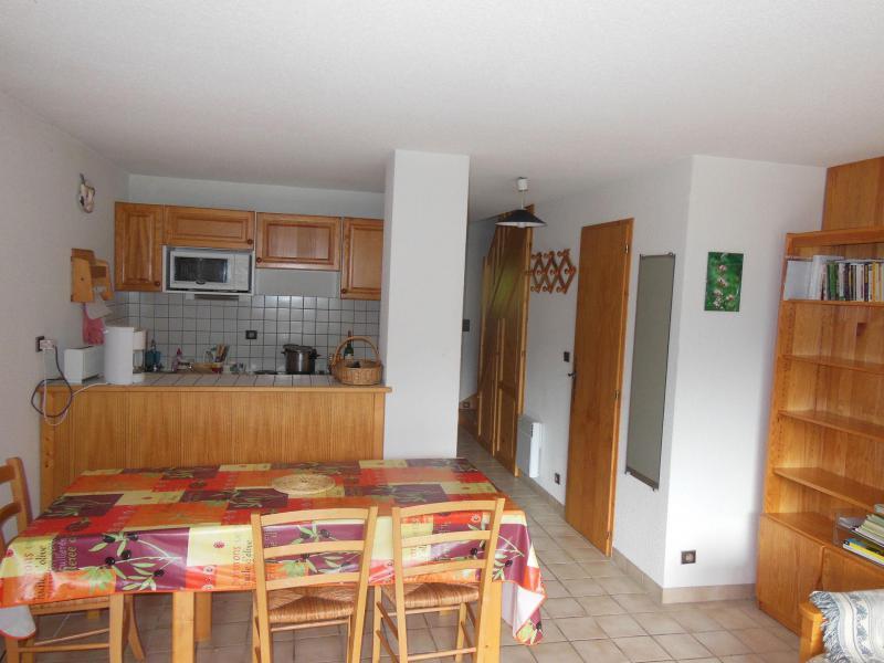 Wynajem na narty Apartament 3 pokojowy kabina 6 osób (033CL) - Résidence le Chardonnet - Champagny-en-Vanoise - Stołem