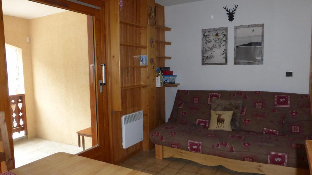 Location au ski Appartement 2 pièces cabine 6 personnes (003CL) - Résidence le Chardonnet - Champagny-en-Vanoise - Canapé