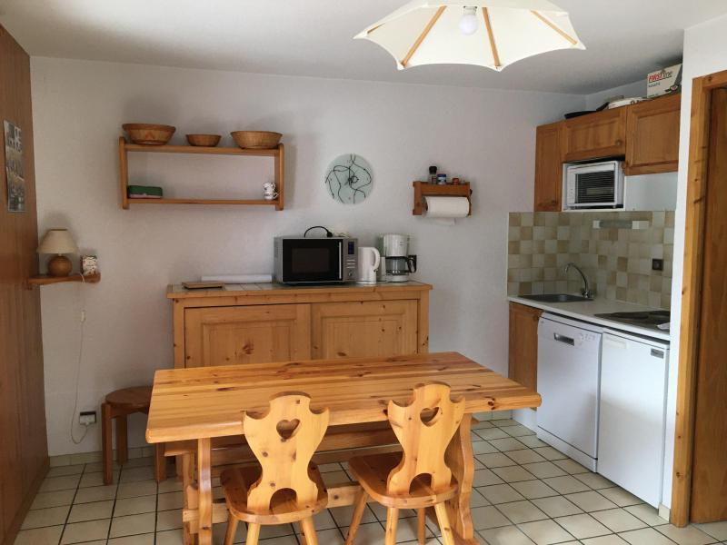 Location au ski Appartement 2 pièces cabine 6 personnes (011CL) - Résidence le Chardonnet - Champagny-en-Vanoise - Table