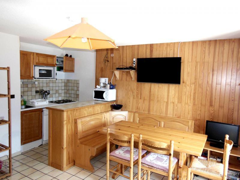Location au ski Appartement 2 pièces cabine 6 personnes (012CL) - Résidence le Chardonnet - Champagny-en-Vanoise - Kitchenette